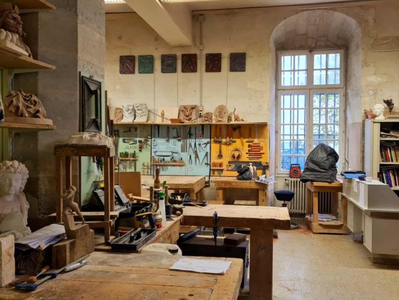 Atelier sculpture à l'Académie des Arts d'Avignon