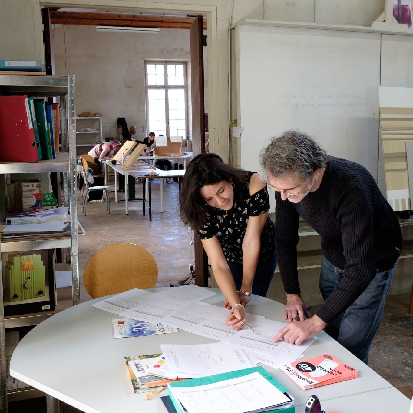 Admission et inscription à l'Académie des Arts d'Avignon
