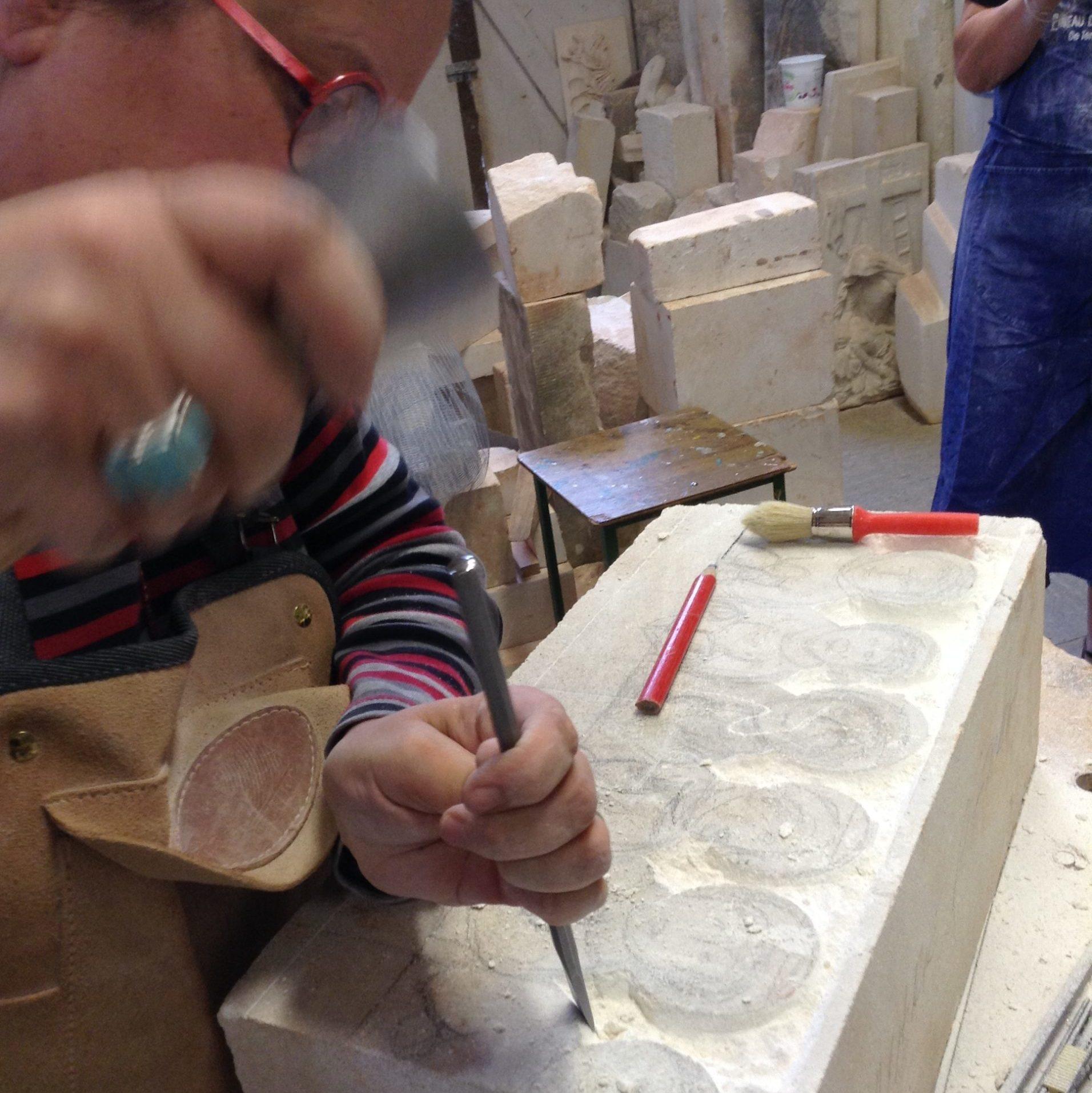 Atelier de sculpture grand public le samedi à l'Académie des Arts d'Avignon