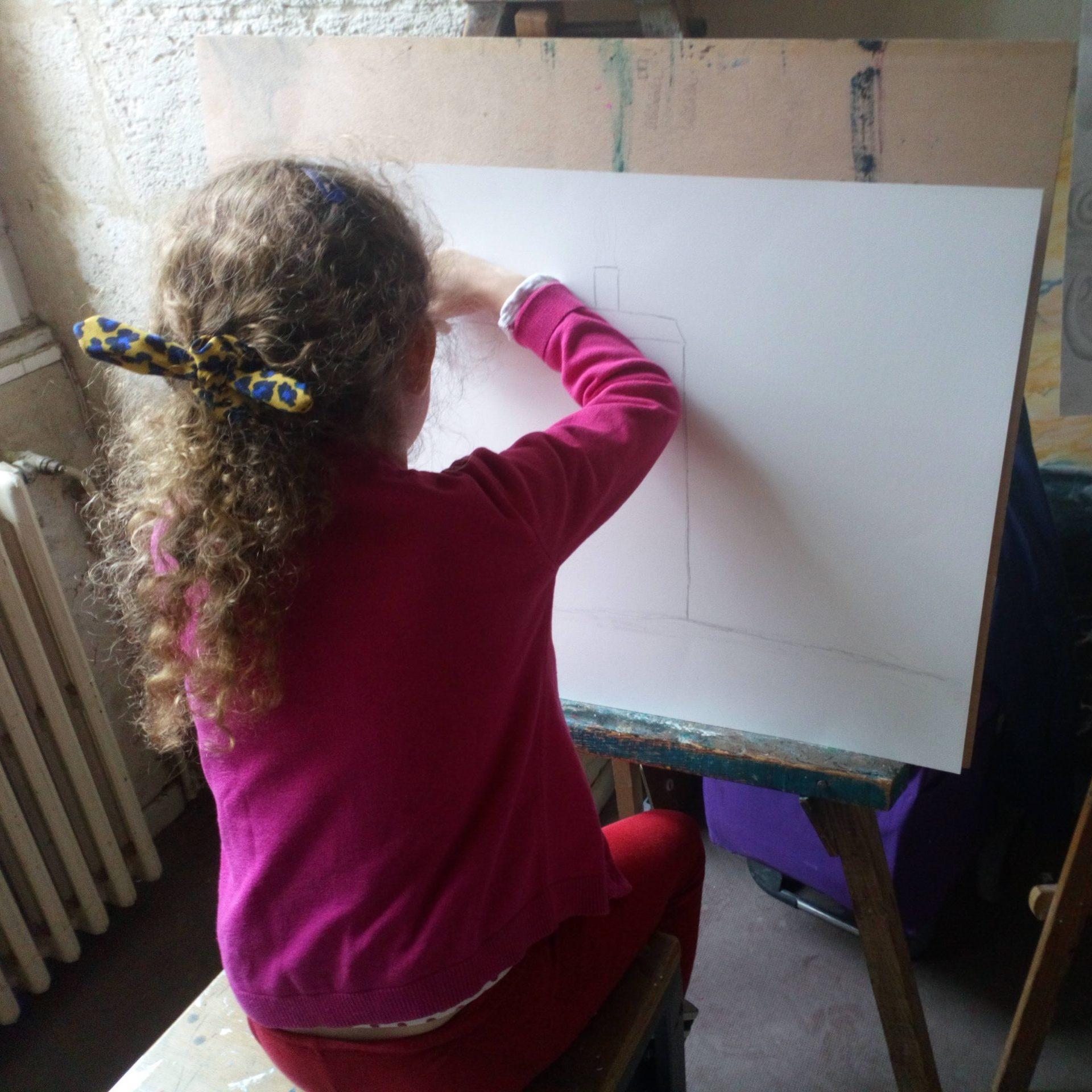 Petit Atelier pour enfants à l'Académie des Arts d'Avignon